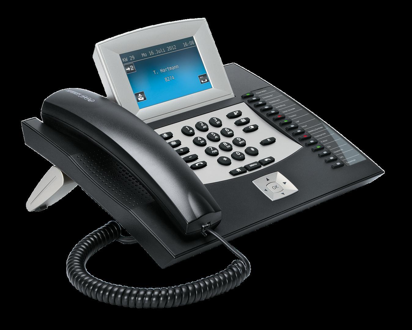 MwSt. inkl Auerswald COMfortel VoIP 250 schwarz NEU